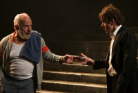 Jonjo O'Neill in King Lear. Photograph by Stephen Vaughan
