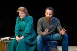 Matti Houghton (Elizabeth Proctor) and Jonjo O'Neill (John Proctor) © Jonathan Keenan