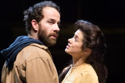 Jonjo O'Neill (John Proctor) and Rachel Redford (Abigail Williams) © Jonathan Keenan
