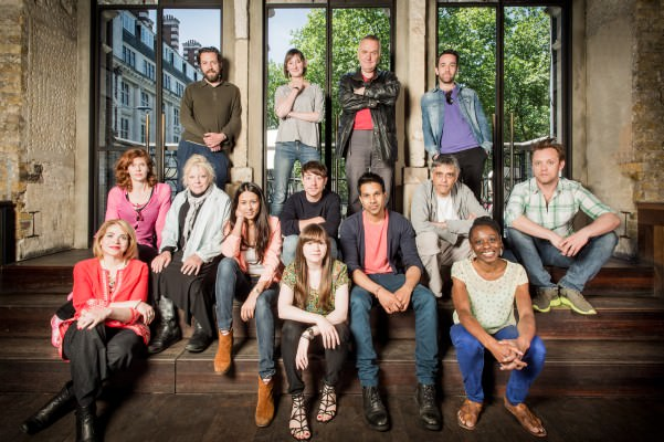 The Cast of the RSC Open Court