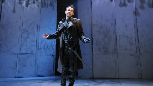 Jonjo as Richard III, RSC by Hugo Glendinnin