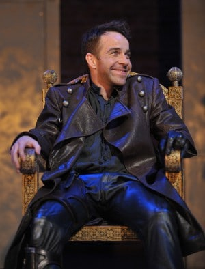 Jonjo O'Neill as Richard III RSC by Keith Pattison