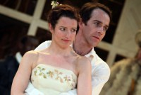 Katy Stephens as Rosalind and Jonjo O'Neill as Orlando in As you like itPhotograph by Ellie Kurttz, 2009 (3)