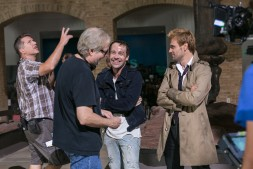 Jonjo O'Neill and Matt Ryan Behind the Scenes on Constantine