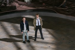 Jonjo O'Neill as Gary Lester, Matt Ryan as Constantine