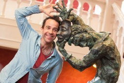 Mercutio Statue unveiling at Newcastle Theatre Royal - 10