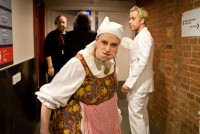 Backstage at RSC Ensemble revealed. Photography &copy Lucy Barriball 2011