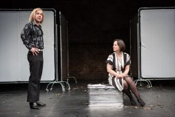 Jonjo O'Neill (Ivan), Amanda Drew (Anastasia). Photos ©Matt Humphrey