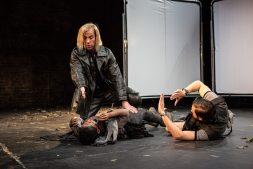 Jonjo O'Neill (Ivan), Tamara Lawrance (Natasha), Richard Pyros (Carl), Photos ©Matt Humphrey