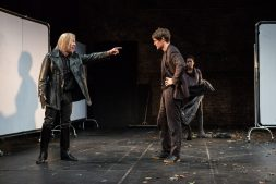 Jonjo O'Neill (Ivan), Matt Smith (Maxim), Tamara Lawrance (Natasha). Photos ©Matt Humphrey
